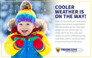 Cold Weather is on the Way!